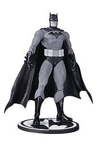 Figura de acción de Batman Negro y Blanco de DC Comics de Jim Lee