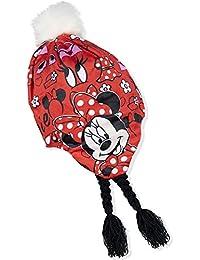 Disney Bambine e ragazze Minnie Mouse Cappello invernale peruviano 52-54 cm a43d4c65e020