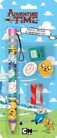 Anker-Adventure-Time-Pencil-and-Eraser-Set