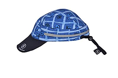 Chaskee Junior Zuma Beach Tribal Zip in Kinderkappe mit verstaubarem Nackenschutz (mit RV) mit UV Schutz 80, Farbe:dark blue von Chaskee bei Outdoor Shop