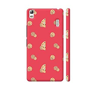 Colorpur Lenovo A7000 Cover - Smiling Chocolate Chips Cookies Case