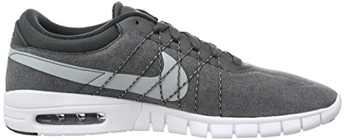 Nike Koston Max, Scarpe da Skateboard Uomo Gris (Anthracite / Wolf Grey-White-Black)