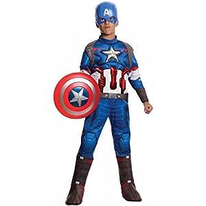 Capitan América Disfraz Disfraces Infantil Adulto
