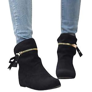 Stiefel Damen Boots Frauen Erhöhen Stiefel Spitz Zip Bow Stiefel Klassische  Knöchel Freizeitschuhe Outdoor Stiefeletten Party. Buffalo Damen Dapple GM  ... 13acaca904