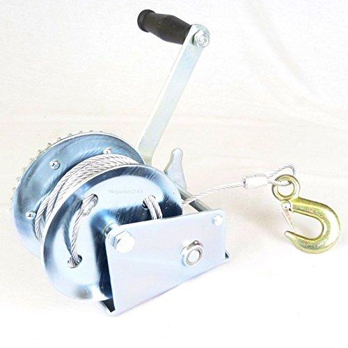 Generic uk150620-058< 1& 3754* 1> Er toolcar Boot je Van Auto Boot 1200LBS Hand Jet Ski Trailer Winde 8m Kabel Caravan 4x 4Abzieher Werkzeug 1200LBS HAN - 1200 Boot