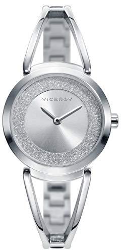 Viceroy Femmes Analogique Quartz Montre avec Bracelet en Acier Inoxydable 471150-00