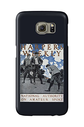 harpers-weekly-national-authority-on-amateur-sport-vintage-poster-artist-mp-usa-galaxy-s6-cell-phone