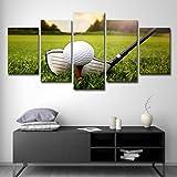 T-TWLH Schlafzimmer Wohnzimmer 5 Golf und Golfplatz, 12x18inch-2P12x24inch-2P12x30inch-1P