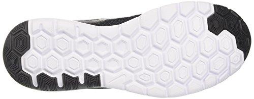 Nike Flex Experience Rn 6, Sneakers Homme, Nero / Arancione Noir (Black/black/dk Grey)