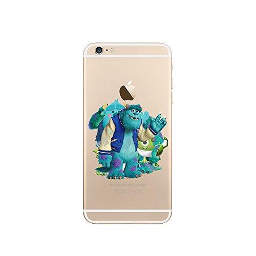 Disney Monster Uni. Klare TPU Soft Case für Apple iPhone 5/5S, 5C, 6/6S & 6Plus * Check Sonderangebot *, plastik, MU3, Apple iPhone 5C MU4