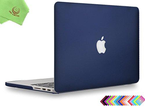 UESWILL Schutzhülle für MacBook, glatte und weiche Hartschale, inklusive Mikrofasertuch  (2010 13-zoll-fall Macbook Pro)