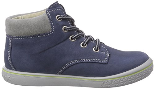 Ricosta Yani, Baskets Mixte Enfant Bleu - Blau (reef 160)