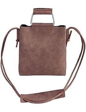 AuBer Schultertasche Damenhandtaschen Vintage Handtasche Damen Umhängetasche Sling Bag Messenger Bag Cross-body...