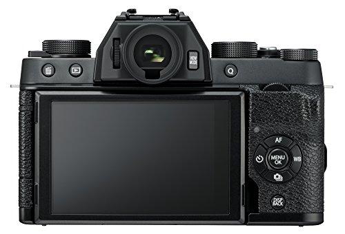 Fujifilm X-T100 w/XC15-45mm Lens Kit Black Mirrorless Digital Camera with 3.0