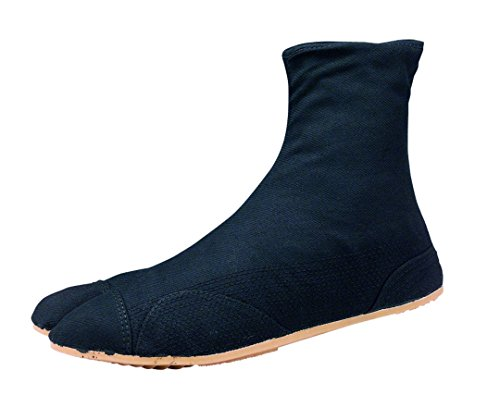 Chaussures de Ninja Semi-Montante Jikatabi (Nutsuke) 5 Clips Importe du Japon
