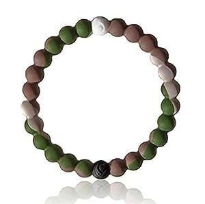 s1 nouveau bracelet porte chance en silicone couleur camouflage taille m 18 cm petits. Black Bedroom Furniture Sets. Home Design Ideas