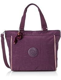 Kipling NEW SHOPPER L Damen Shopper 48.5x34x17.5 cm (B x H x T), Violett (34Z Plum Purple)