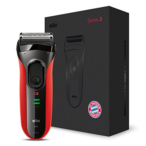 Braun Series 3proskin 3030s eléctrico recargable afeitadora (FC Bayern Múnich Edition)
