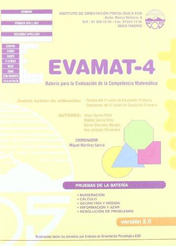 EVAMAT-4 Batería para la Evaluación de la Competencia Matemática (División Test)