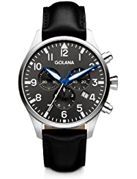080693f6528d Golana Aero Chrono AE600-2 - Reloj cronógrafo de Cuarzo para Hombre