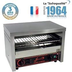 Toaster Professionnel multifonction avec régulateur - Club 1 étage - Sofraca -