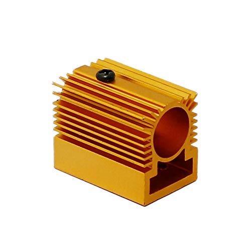 Q-BAIHE Aluminium Heizkörper Kühlkörper 20x27x32mm für 12mm Laser Modul Golden