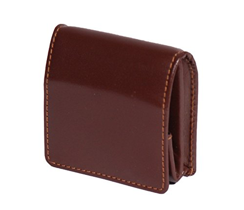 Luxus Echtes Leder Brieftasche Geldbörse Tasche ändern Fall HOL124 (Braun) Braun