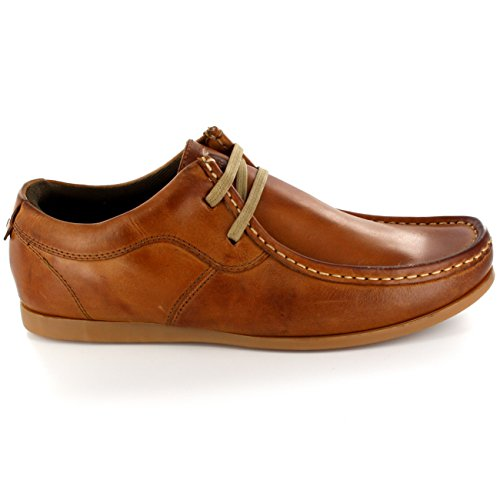 Hommes Ikon River Original Wallabee Flâneur Intelligent Cuir Chaussures Tanné