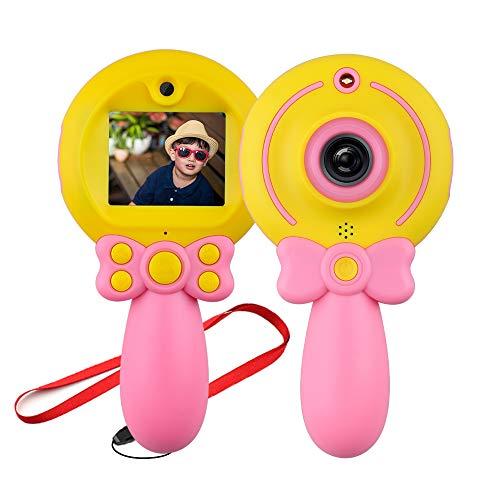 Mädchen Kinderspielzeug Digitalkamera Geschenk,6-10 jähriges Mädchen Boy Geburtstagsgeschenk Kleinkindspielzeug Alter 5 7 9 Jungen Kind Jugend Geschenk Rosafarbene Kamera ()
