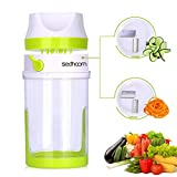 Best Spiralizers - Sedhoom Spiralizer Legume Coupe legumes Spaghetti Spirale de Review