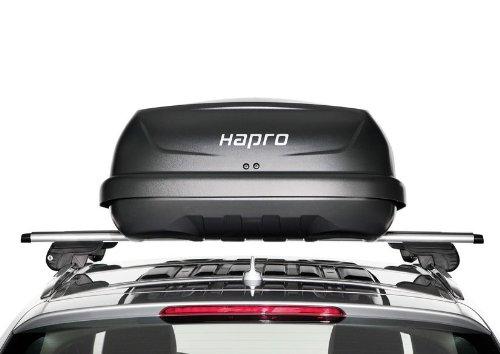 Hapro Traxer Roof Box 5.6 Hapro / 370 Litres / Grey