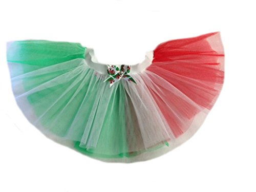 St David s Day Welsh Dragon Tutu Green Red White Wales Rugby All Sizes 14  Length  Women  One Size