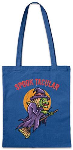Urban Backwoods Spooktacular Hipster Bag Beutel Stofftasche Einkaufstasche