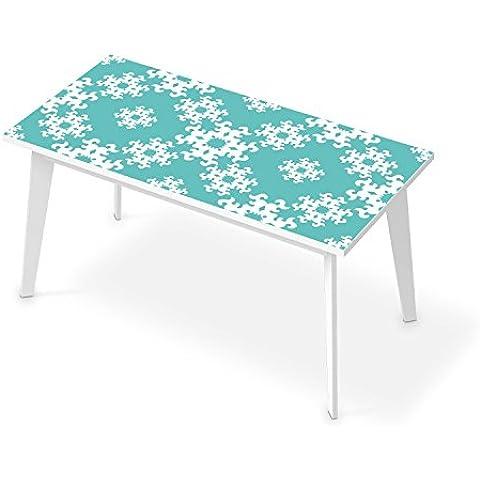 Tavolo da pranzo - Adesivo decorativo per scrivania 150x75 cm | Pellicola adesiva per tavolo - Idee per decorare casa salotto | Design Endless Flake