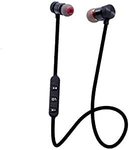 Captcha Magnetic Bluetooth for Xiaomi Mi Devices Attractive Headphone with Noise Isolation, Integrated Neckband, Thunder Beats Stereo Sound and Hands-free Mic and Controlling Buttons with Magnetic Earbuds , Compatibility Secure Fit for Sports , Gym , Running & Outdoor with Built-in Microphone