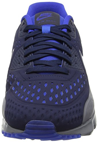 Nike Air Max 90 Ultra Br, Chaussures de running entrainement homme Obsidian/Cool Grey-Game Royal