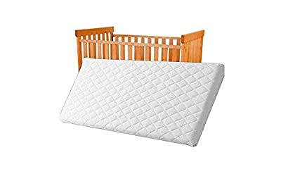 85X45X4 CM QUILTED AND BREATHABLE CRADLE /PRAM /SWING /COT /CRIB MATTRESS SQUARE CORNERS (85x45x4 cm)