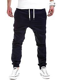 Minetom Uomo Casual Allenamento Pantaloni Cargo Jeans Jogging Sportivi Slim  Fit Pantalone Polsino Tasche Laterale 7ed36a001ccb