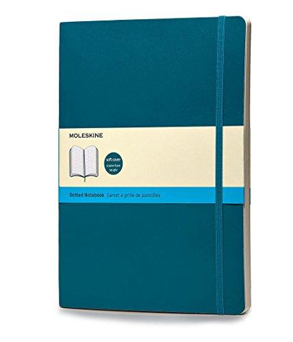 Moleskine Taccuino Notebook, Extra Large, Copertina Rigida, Puntinato, Blu Oltremare