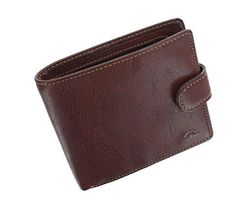 Portafoglio in pelle Tony Perotti Pieno Fiore Bi-Fold Con RFID Protezione  1001 1 Marrone 9c3e9a571719