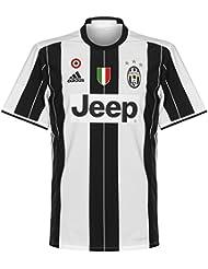 Juventus Home Camiseta 2016 2017 inkl Coppa Italia & Scudetto Logotipos
