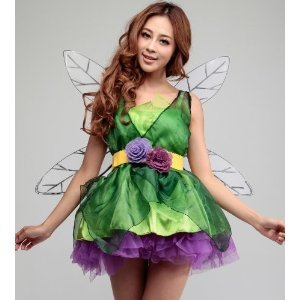 y dress costume selling party goods party costume banquet Goods Party Goods adult simple event Halloween pumpkin illustration Halloween party games popular Happy Halloween gift for sexy adult Tinkerbell costume play set Christmas Halloween (japan import) (Adult Tinkerbell Halloween Kostüme)