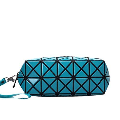 Frauen-geometrisches Muster Multi-Funktions-Verfassungs-Kosmetik-Tasche M