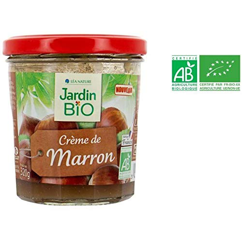 JARDIN BIO Confiture Creme de Marron bio - 300 g