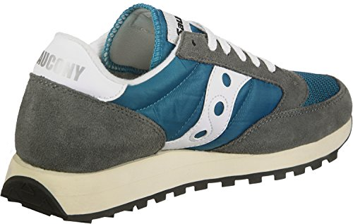 Saucony Damen Jazz Original Vintage Sneaker, Beige, 37 EU Blau (Castlerock/Teal 28)