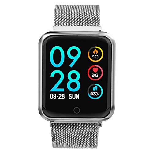 ZLOPV Fitness Armband Smart Watch Männer FrauenBlutdruck Sauerstoff Pulsmesser Schritte Kalorien Kilometerzähler Smartwatch