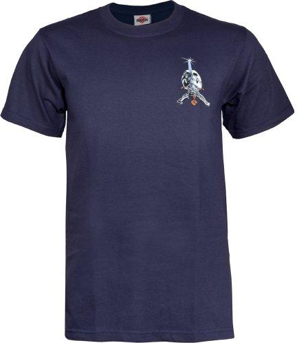 Herren T-Shirt Powell Peralta Skull & Sword T-Shirt Navy