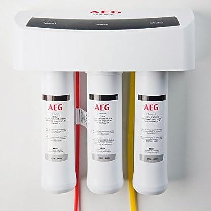 41FU7KBoXRL. SS416  - AEG AEGRO Equipo de ósmosis inversa para la filtración de agua potable que se puede instalar directamente debajo del fregadero, Blanco