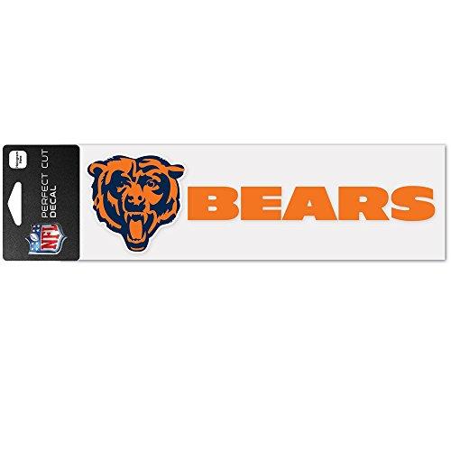25,4cm Auch Schnitt Auto Aufkleber (Vielzahl von Teams erhältlich), Chicago Bears, 3