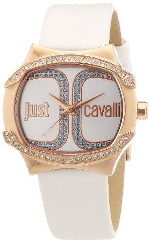 Just Cavalli R7251581501 - Reloj analógico para Mujer de Cuero Resistente al Agua Plata
